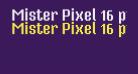 Mister Pixel 16 pt - Regular