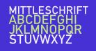 Mittleschrift Caps