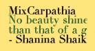 MixCarpathia