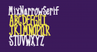 MixNarrowSerif