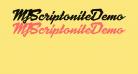 MJScriptoniteDemo