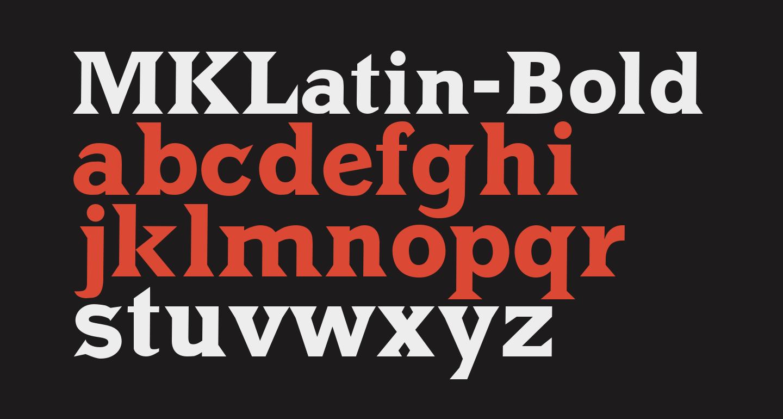 MKLatin-Bold