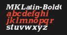 MKLatin-BoldOblique