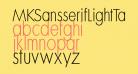 MKSansserifLightTallX