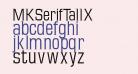 MKSerifTallX