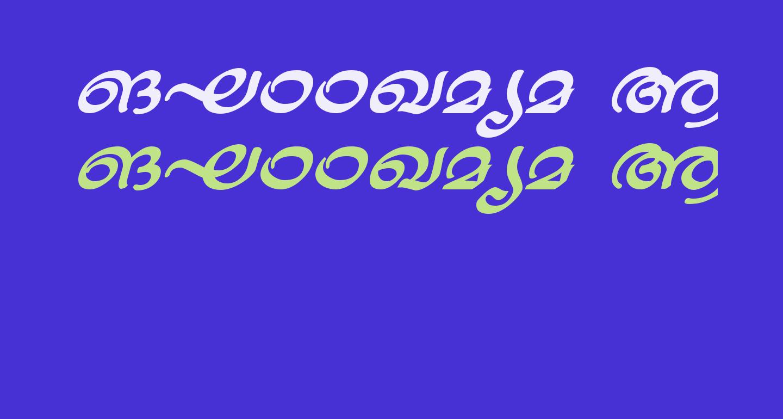 ML-TTJaya BoldItalic