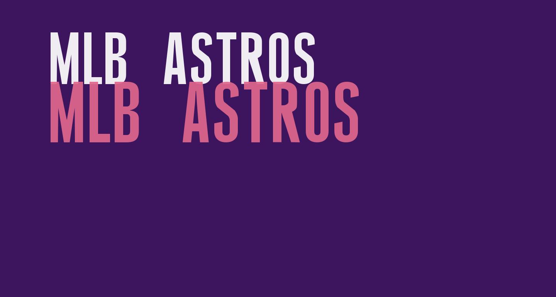 MLB Astros
