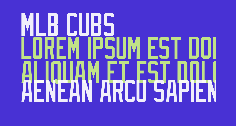 MLB Cubs