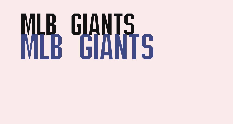 MLB Giants