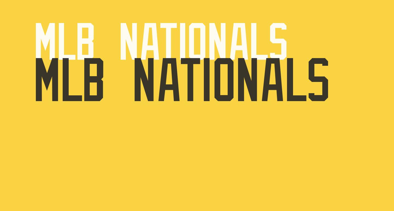 MLB Nationals