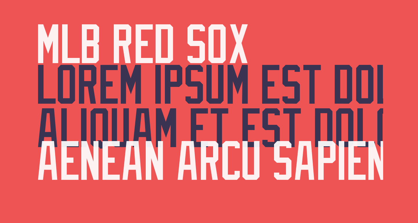 MLB Red Sox