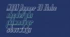 MOON Runner 3D Italic