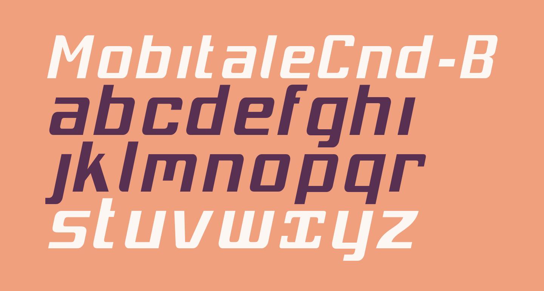 MobitaleCnd-BlackItalic
