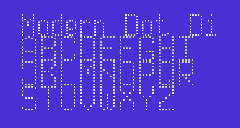 Modern Dot Digital-7