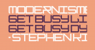 ModernismBold