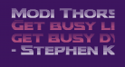 Modi Thorson Gradient Regular