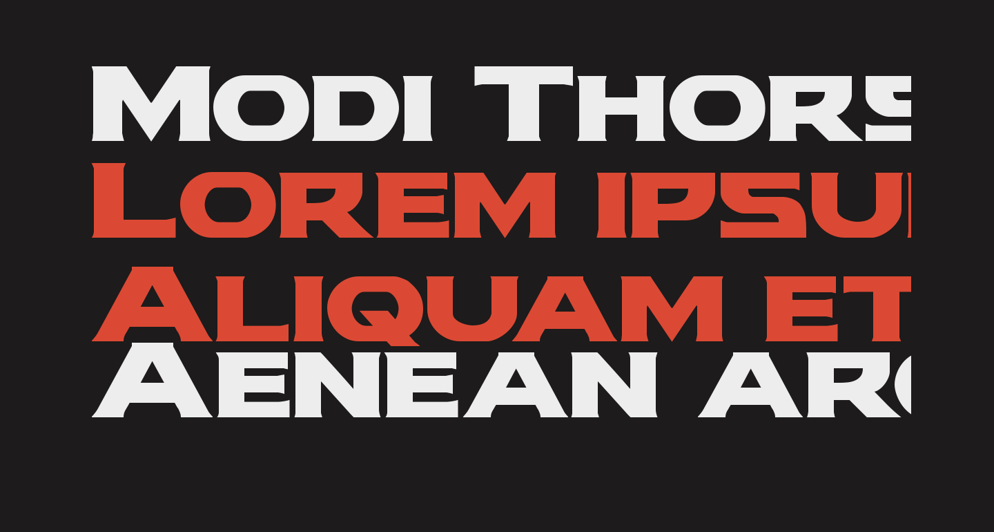 Modi Thorson Regular