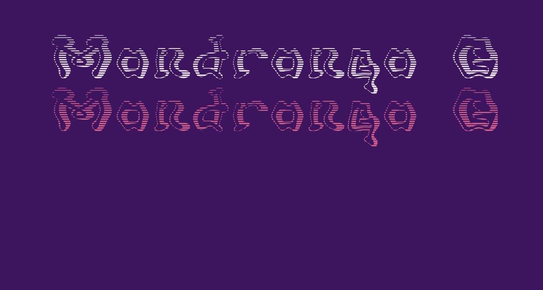 Mondrongo Gradient
