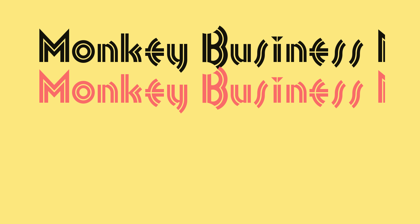 Monkey Business NF