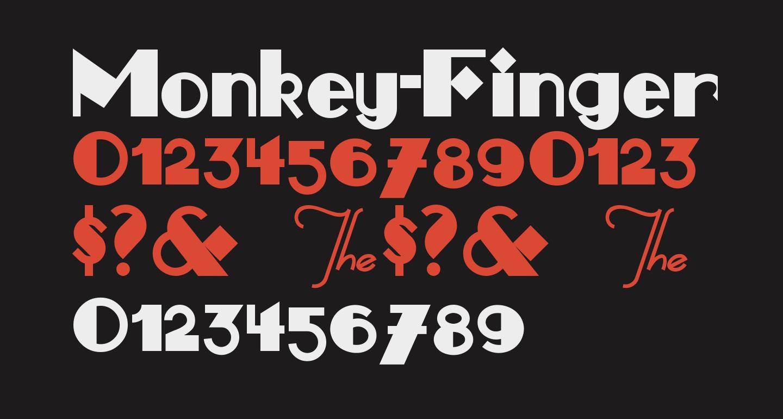 Monkey-Fingers