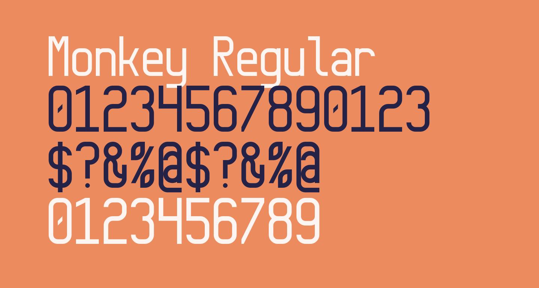 Monkey Regular