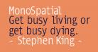 MonoSpatial