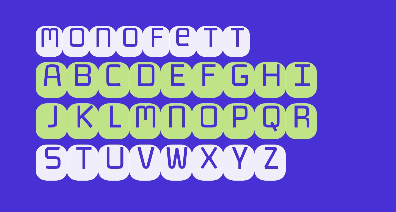 Monofett