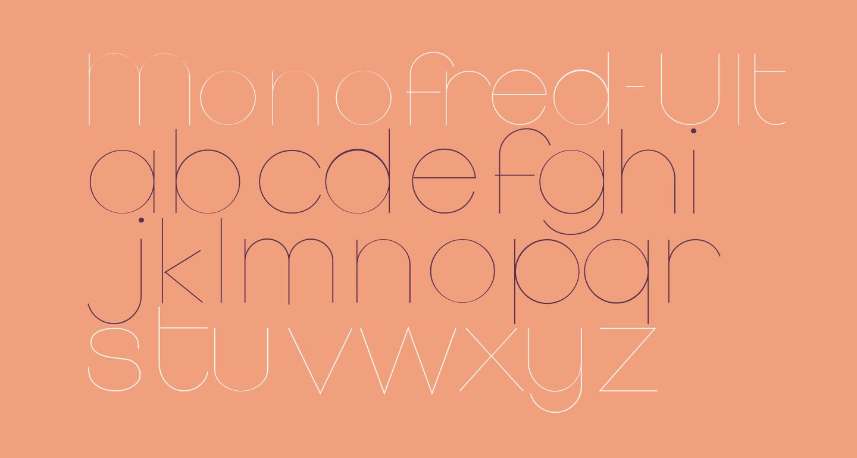 Monofred-UltraLight