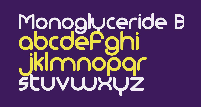 Monoglyceride Bold
