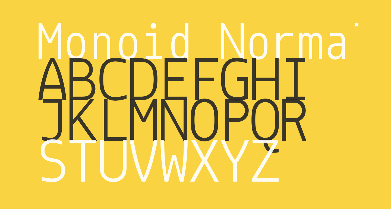 Monoid Normal