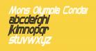 Mons Olympia Condensed Bold Italic