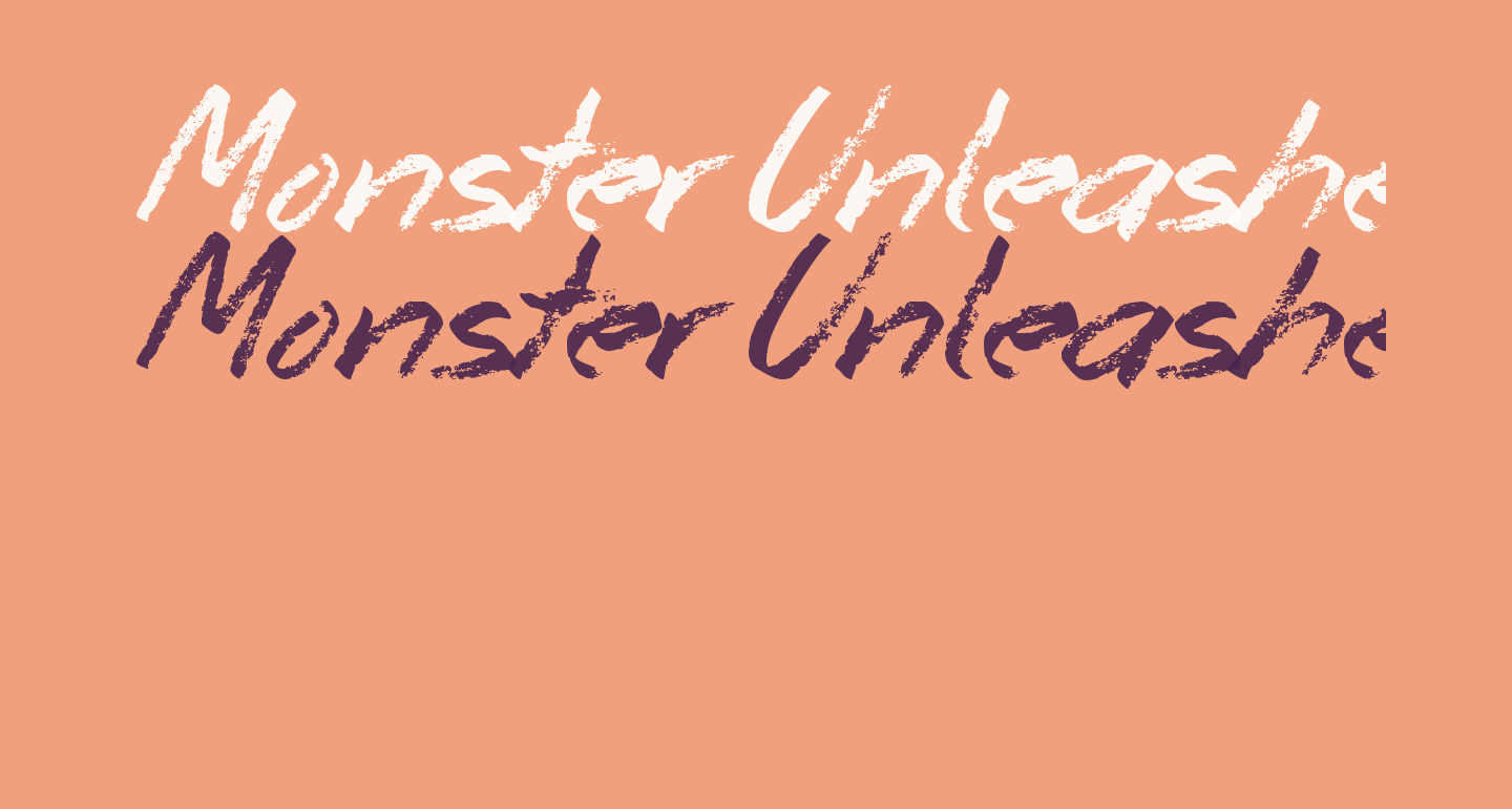 Monster Unleashed