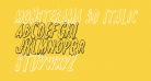 Monsterama 3D Italic