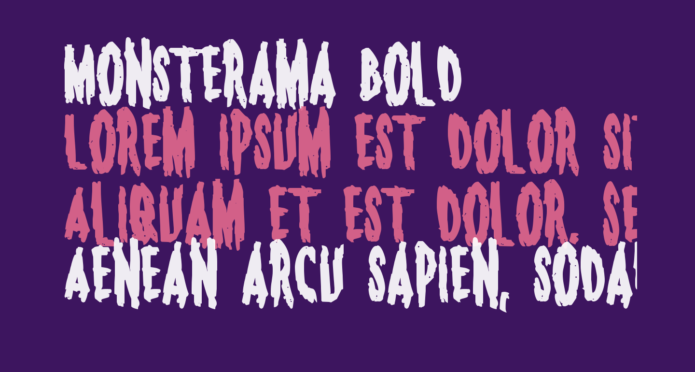 Monsterama Bold
