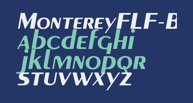MontereyFLF-BoldItalic