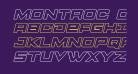 Montroc Outline Italic