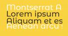Montserrat Alternates Medium
