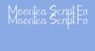 Moontea Script Family