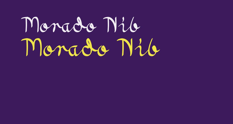 Morado Nib