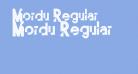 Mordu Regular