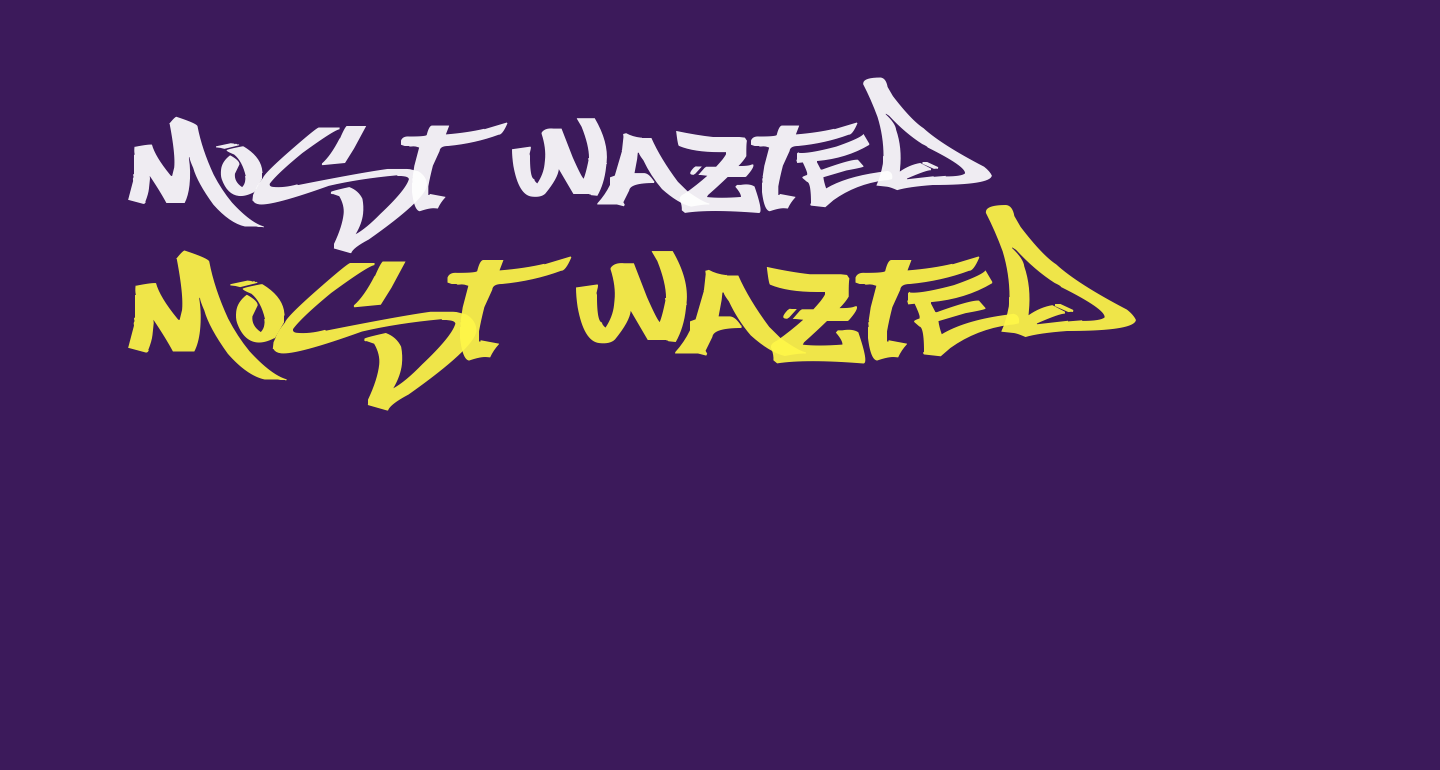 Most Wazted