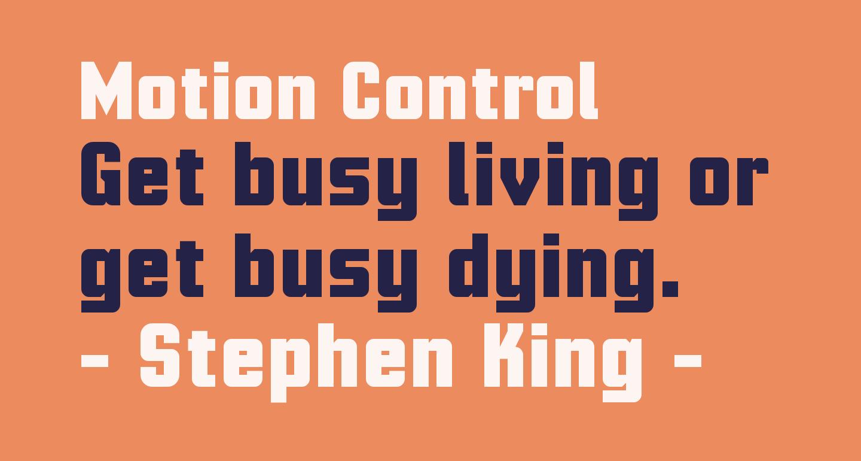 Motion Control
