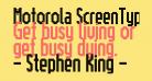 Motorola ScreenType