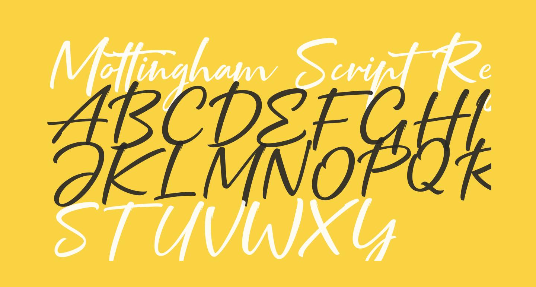 Mottingham Script Regular
