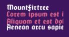 MountFirtree