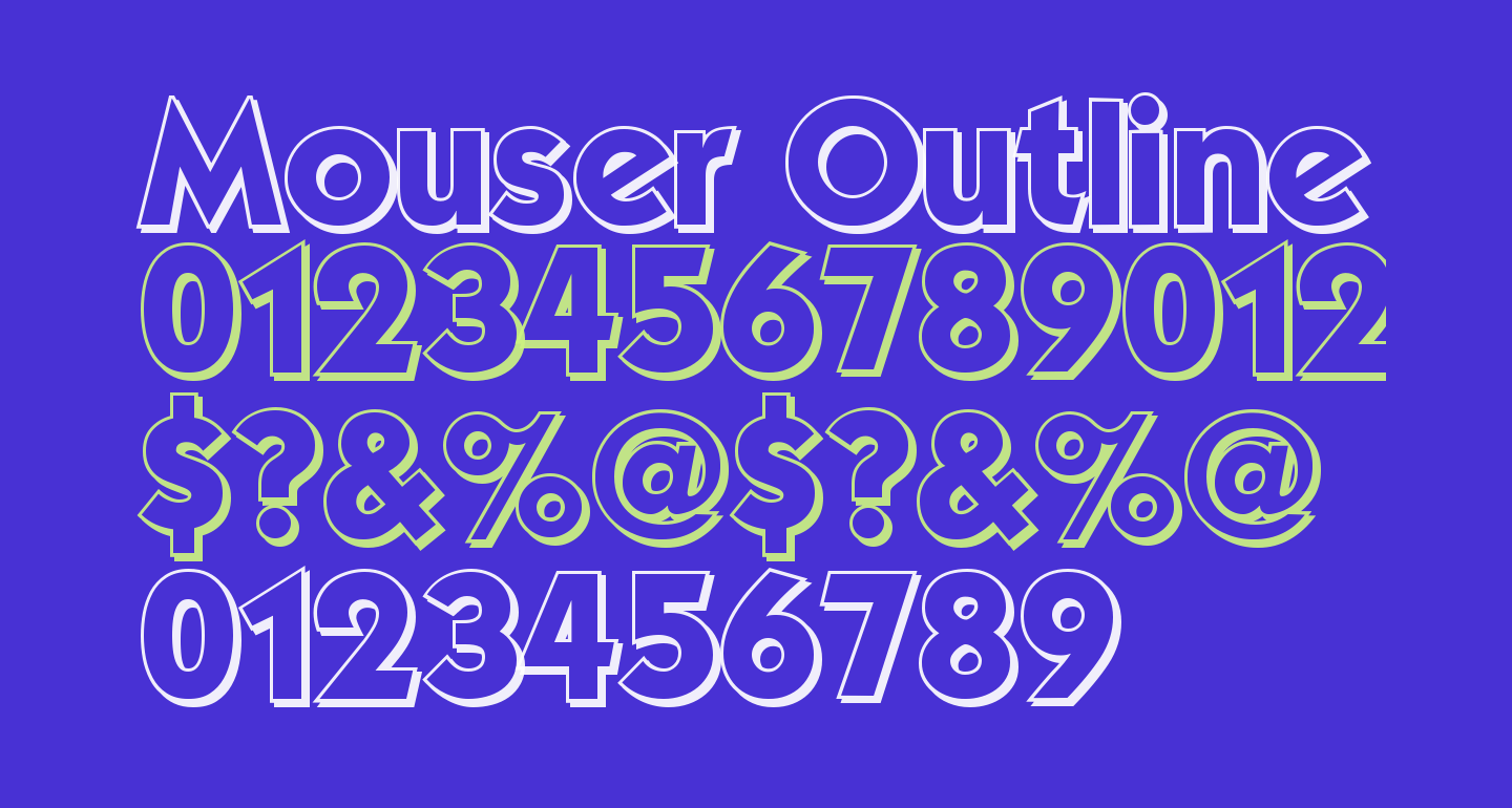 Mouser Outline