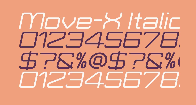 Move-X Italic