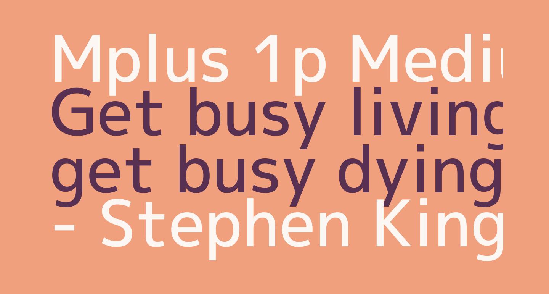 Mplus 1p Medium