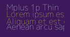 Mplus 1p Thin