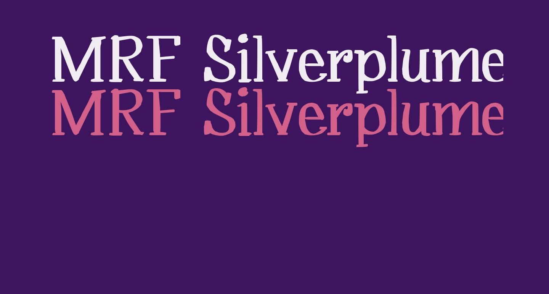 MRF Silverplume